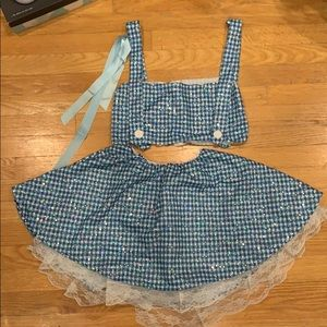 Custom Dorothy Costume
